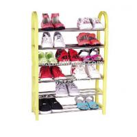 China 20 Pair Home Stackable Shoe Storage Racks with Powder Coating JP-SR106 wholesale