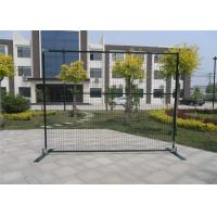 "China outer frame1""/25mm*1.5mm wall thick 6ft height x 9.6ft width spacing 2""x4'x11ga polyester coated green wholesale"