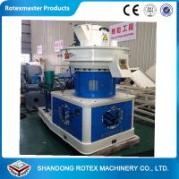 China Hungary  Clients 2ton/h Capacity Biomass Ring Die Pellet Machine  Sawdust  Pellet  Line Price wholesale