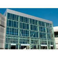 China Wind Pressure Aluminium Alloy Curtain Wall With Low-E Glaess For Large Building on sale