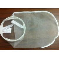 """China PE / PA / Nylon Filter Mesh Industrial Filter Bag Woven / Nonwoven Fabric 7"""" * 18"""" wholesale"""