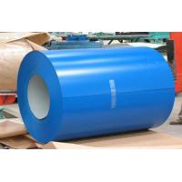 China Buildings Roofing Systems Prepainted Galvalume Steel Coil Blue For Steel Tiles wholesale