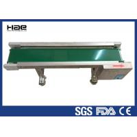 China High Stability Rubber Conveyor Belt , Motor Industrial Green PVC Belt Conveyor wholesale