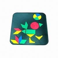 China EVA Magnetic Mosaic Set, Customized Shapes and Colors are Welcome wholesale
