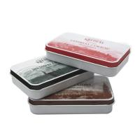 China Double Sided Printed Cigar Tin Box  Eco - Friendly Metal Case wholesale