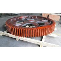 China Hot Selling Casting Spur Big Gear for Mining Industry Hot Sale Hydraulic Winch Herringbone Gear wholesale