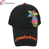 China Black Cute Nickelodeon Childrens Baseball Caps Custom Strapback Hats wholesale