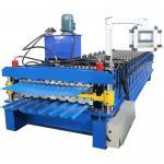 China Metal Machining Center Corrugated Tile Sheet Making Roll Forming Machine wholesale