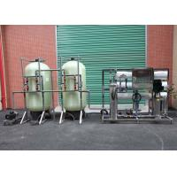 Stainless / Carbon Steel Industrial Reverse Osmosis Equipment With 3T/H Capacity for sale