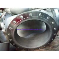 China B366 Hastelloy C-276 Pipe Spool Butt Weld Fittings B16.9 Welded With Plate Flange 24 B16.5 on sale