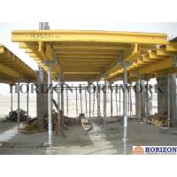 China Table Forms Slab Formwork Systems Large Area Concrete Pouring With Guard Rails wholesale