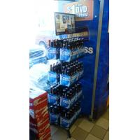 China Supermarket, Convenience Store Bottle Display Rack / Shelf wire floor display stand wholesale