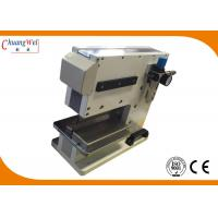 China PCB Separator Pcb V Cut Machine With Pneumatically Driven / Electromagnetic Valve Control wholesale
