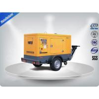 China Brushless Portable Mobile Generators Trailer Mounted Class H Insulation on sale