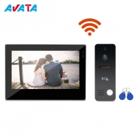 China Custom Logo 7 Inch Wireless Smart Video Door Phone WiFi Door Bell for Villa on sale