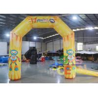 Quality Full Color Digital Printing Advertising Small Display Inflatables Inflatable Arch for sale
