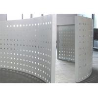China PVDF Coated Perforated Aluminum Panels For Curtain Wall Decoration wholesale