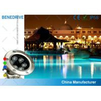 China 3W 82*120  SAL062A3 LED Underwater Pool Light Life Span >50000 Hours Stainless Steel Housing wholesale