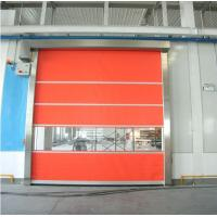 Rapid Automatic Roll Up Door , Industrial High Speed Door For Warehouse