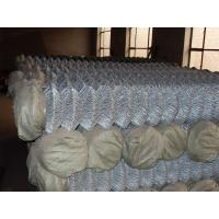 China Powder Coated Steel Chain-Link Fence on sale