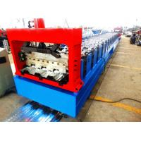 China Motorized 0.8MM - 1.2MM Roll Forming Machine Professional With 28 Stations wholesale