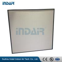 China Compact Design PTFE 99.99 HEPA Filter Light Weight High Dust Holding Capacity wholesale