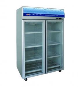 China glass door juice freezer wholesale