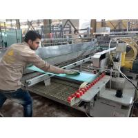 China 2000 mm Straight Line Glass Double Edging Machine For Flat Tempered Glass wholesale