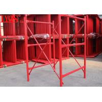China Powder Coated H Type Scaffolding Shuttering System 50kn/Leg Max Loading wholesale