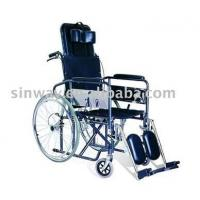 China Chromed reclining wheelchair wholesale