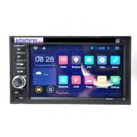 China WiFi Android 4.2.2 Double Din Car Stereo With Built in Sat Nav Universal Cars GPS 1.6GHz CPU on sale