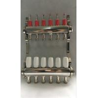China Stainless Steel 304 Floor Hydronic Heating Manifold / Brass Water Manifold wholesale