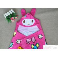 China Lightweight Convenient Hooded Poncho Towels Breathable Lovely 60*120cm on sale