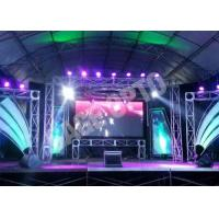 China High Definition Ultra Thin Indoor LED Displays Rental , LED Advertising Billboards wholesale