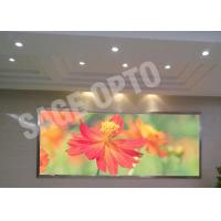 China RGB LED Display Video Wall HD , LED Video Curtain 1200Nit Brightness wholesale