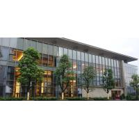 China 10MM Double Aluminium Glass Curtain Wall Reflective  For Office Building wholesale