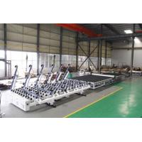 China Industrial Glass Cutting Machine , Second Hand Glass Machinery With Italy Optima Software wholesale
