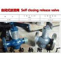 China Marine self closing release valve A type through on sale