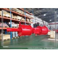 Quality Standard Air Actuated Pneumatic Rotory Actuator With Double Acting Or Spring for sale