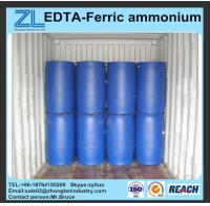 China reddish brown 40~46% EDTA-Ferric ammonium wholesale