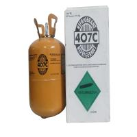China R407c Refrigerant Gas with High Purity 99.9% wholesale