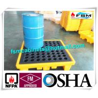 China Highly Visible IBC Spill Containment Pallet HDPE For Chemical Oil Tank wholesale