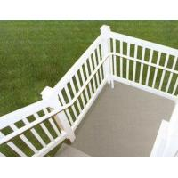 China silver Exterior Aluminum Hand Railings with T4 , T5 , T6 Temper wholesale