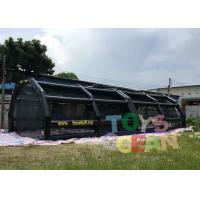 China Inflatable Sport Batting Cage Baseball Tee Hitting Stations Adult Inflatable Games wholesale