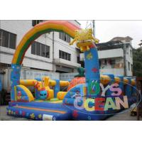 China Customized Inflatable SpongeBob Kid Playground Inflatable With Arch wholesale