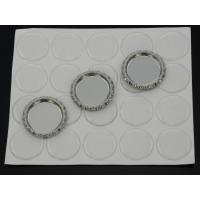 1 Inch Self Adhesive Round Glitter Clear Epoxy Stickers For Bottle Caps Pendants