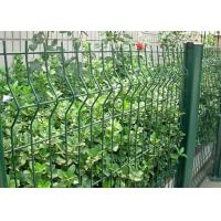 China Green Welded Wire Garden Fence Decoration With 1.5-3.0m Width wholesale