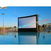 China Large Commercial Inflatable Movie Screen Rentals for outdoor & indoor projection movie use wholesale