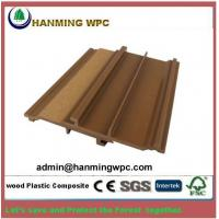 China Anti-slip Weather Resistant Durable Wood Plastic Composite WPC wall cladding wholesale