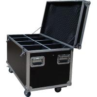 China 20U Standard Rack Flight Case With 9mm Plywood / Trolley Case wholesale